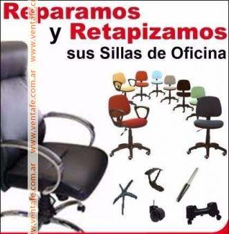REPARACION Y VENTA, SILLAS Y MUEBLES DE OFICINA